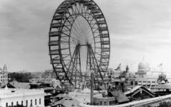 世界初の鉄の観覧車が大きくて凄かった写真