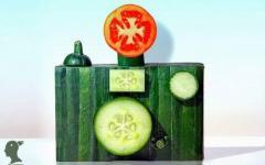 野菜アート