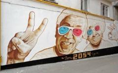 ロシアの格好良すぎるストリートアートまとめ