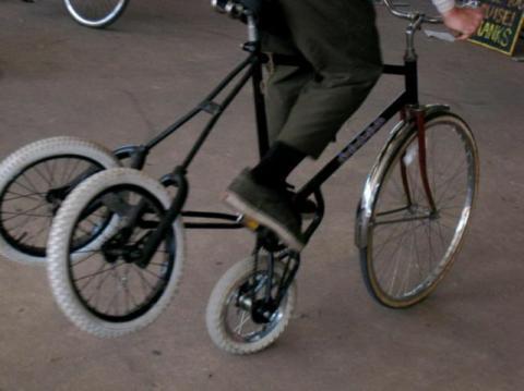 自転車があまり進化していない理由が分かる画像