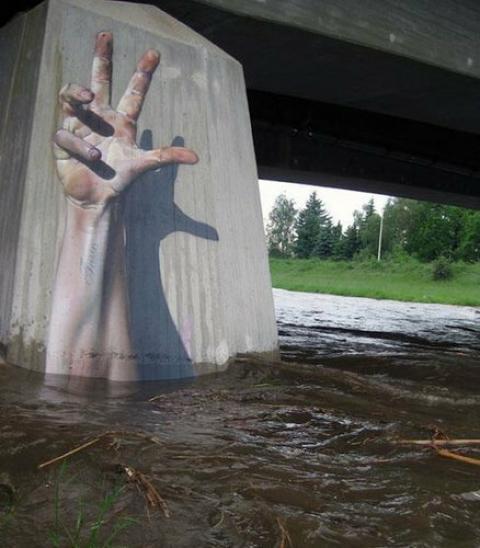 目に留まるストリートアートの写真12枚
