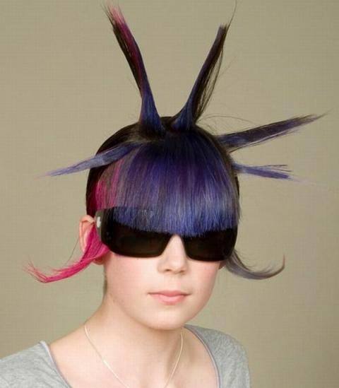 世界の変わった髪型がおしゃれ?すぎる写真