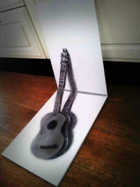 アイデアあふれる3Dドローイングの写真