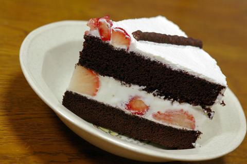 本当に美味しそうなチョコレートケーキの写真を見ていると食べたくなる!写真