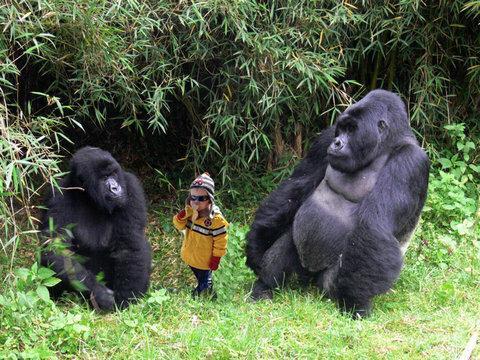 バナナを求めてやってきた少年「カーター君」が全米の人気者に…パロディ画像