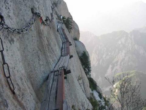 中国の崋山