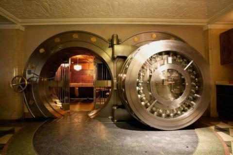 シカゴの「銀行レストラン」の写真