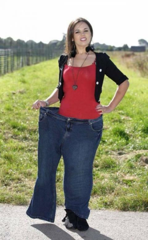 ダイエットしたらアンジェリーナ・ジョリーになれたと喜ぶ女性