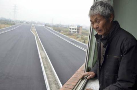 中国で立ち退きを拒否したらこうなった!