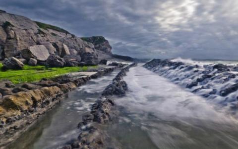 美しい自然の風景写真